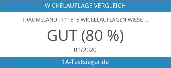 Träumeland TT11515 Wickelauflagen Wiesenglück bunt 75 x 85 cm