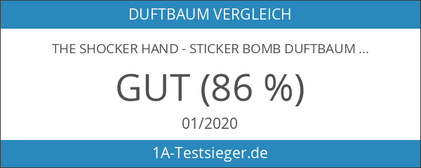 The Shocker Hand - Sticker Bomb Duftbaum Air Freshener -