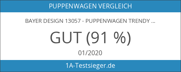 Bayer Design 13057 - Puppenwagen Trendy