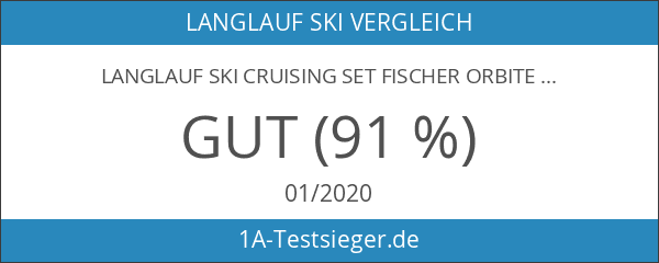 Langlauf Ski Cruising Set Fischer Orbiter Crown