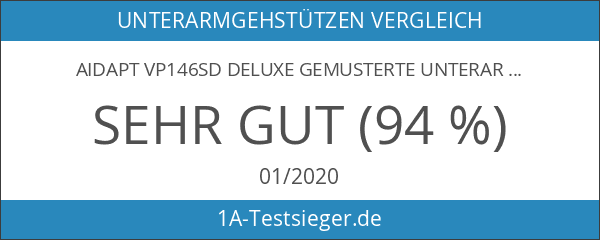 Aidapt VP146SD Deluxe Gemusterte Unterarmgehstützen