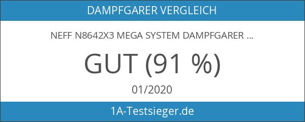 Neff N8642X3 Mega System Dampfgarer