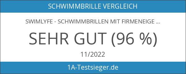 SwimLyfe - Schwimmbrillen mit firmeneigenem Patent des Anti-Beschlagens und Silikontechnologie.