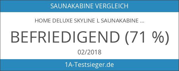 Home Deluxe Skyline L Saunakabine