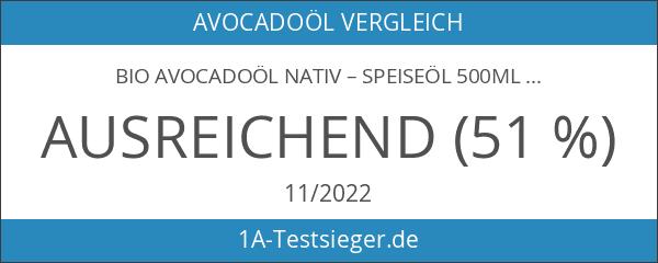 Bio Avocadoöl nativ – Speiseöl 500ml kaltgerpesst
