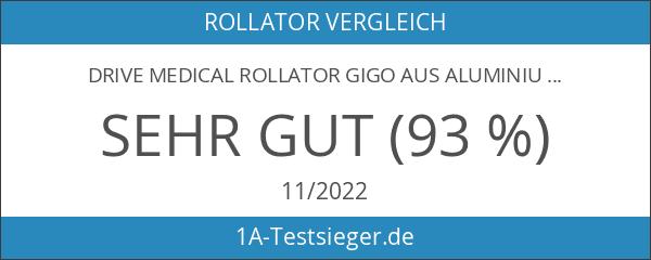 Drive Medical Rollator Gigo aus Aluminium