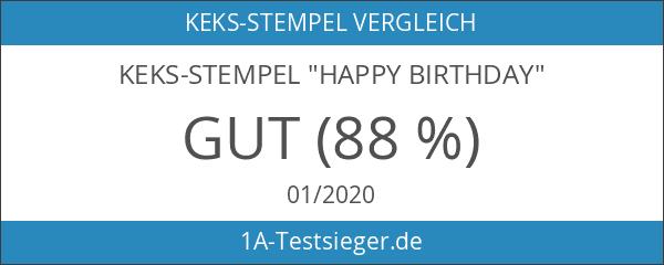 """Keks-Stempel """"Happy Birthday"""""""
