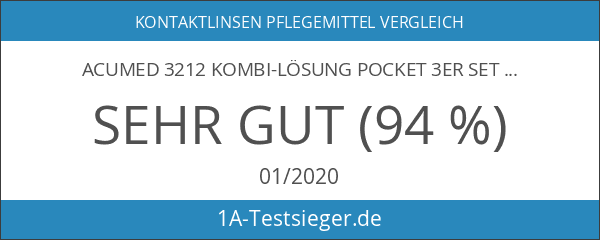 Acumed 3212 Kombi-Lösung Pocket 3er Set