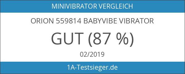 Orion 559814 Babyvibe Vibrator
