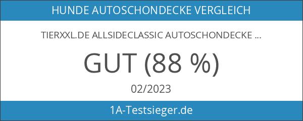 TierXXL.de AllsideClassic Autoschondecke mit Seitenschutz 145 x 140 x 50cm