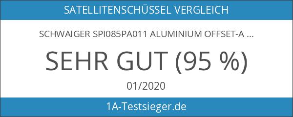 Schwaiger SPI085PA011 Aluminium Offset-Antenne 85 cm