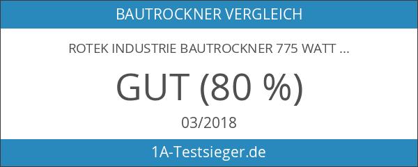 Rotek Industrie Bautrockner 775 Watt
