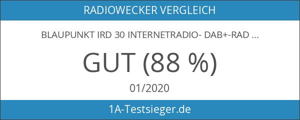 BLAUPUNKT IRD 30 Internetradio- DAB+-Radio - Digitalradio mit Radiowecker -