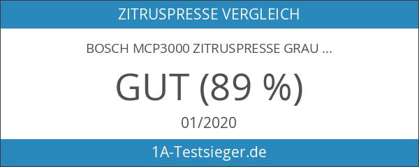Bosch MCP3000 Zitruspresse grau