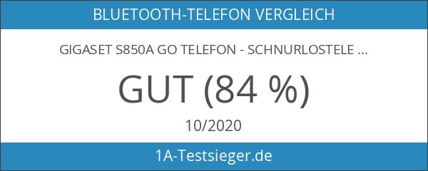 Gigaset S850A GO Hybrid-Dect-Schnurlostelefon