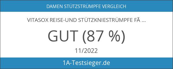 """VITASOX Reise-und Stützkniestrümpfe für """" Sie & Ihn """" 2er"""