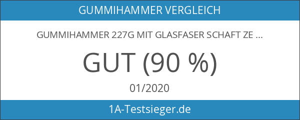 Gummihammer 227g mit Glasfaser Schaft Zelt Heringe