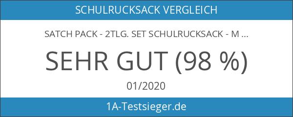 Satch Pack - 2tlg. Set Schulrucksack - Motive - Schulrucksack