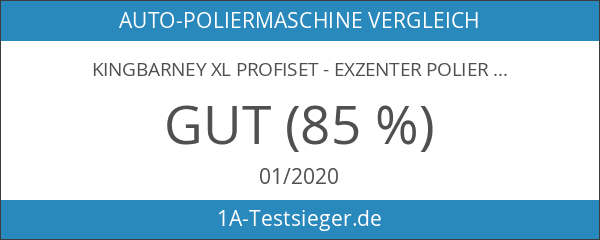 Kingbarney XL Profiset - Exzenter Poliermaschine