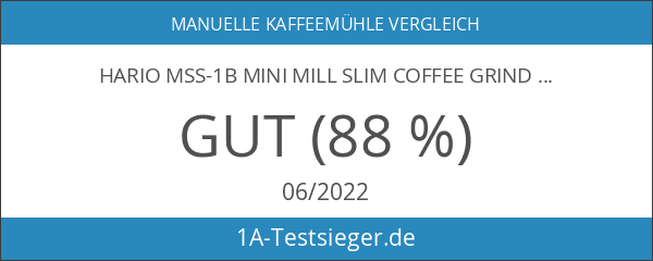 Hario MSS-1B Mini Mill Slim Coffee Grinder