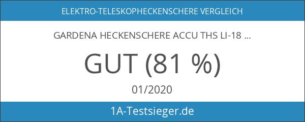 Gardena Heckenschere Accu THS Li-18
