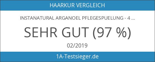 InstaNatural Arganoel Pflegespuelung - 473ml - Für weiches