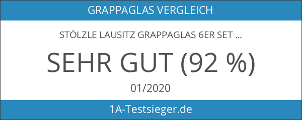 Stölzle Lausitz 205 00 26 Bar und Liqueur Grappaglas 6er