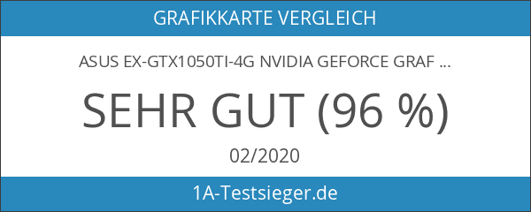 Asus EX-GTX1050TI-4G Nvidia GeForce Grafikkarte