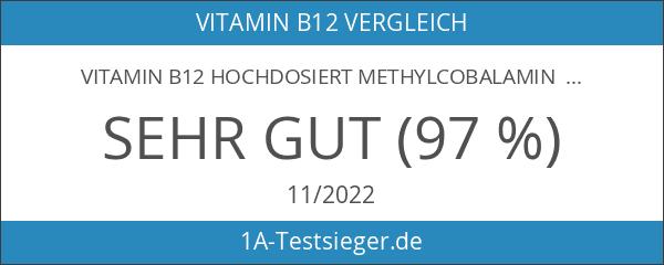 Vitamin B12 hochdosiert Methylcobalamin 1000 µg 180 Tabletten vegan 6