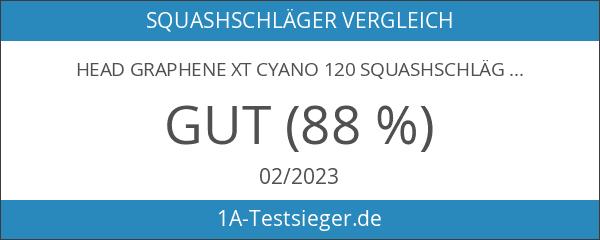Head Graphene XT Cyano 120 Squashschläger
