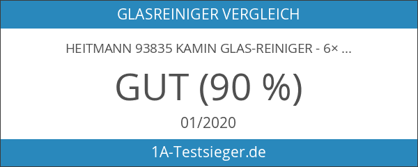 Heitmann 93835 Kamin Glas-Reiniger - 6×500ml