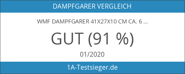 WMF Dampfgarer 41x27x10 cm ca. 6