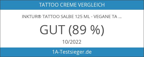 INKtur® Tattoo Salbe 125 ml - vegane Tattoo Creme zur
