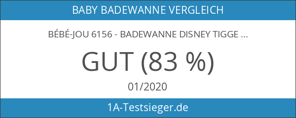 bébé-jou 6156 - Badewanne Disney Tigger Weiß