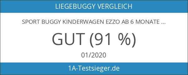 Sport Buggy Kinderwagen Ezzo ab 6 Monate - Komplett Faltbar;