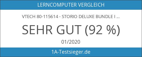 Vtech 80-115614 - Storio Deluxe Bundle inklusiv Tragetasche und Netzadapter