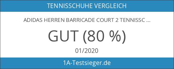 adidas Herren Barricade Court 2 Tennisschuhe