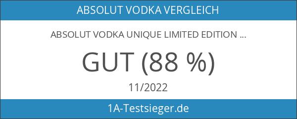Absolut Vodka Unique Limited Edition