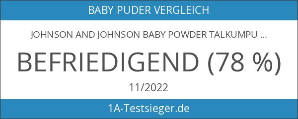 Johnson And Johnson Baby Powder Talkumpuder