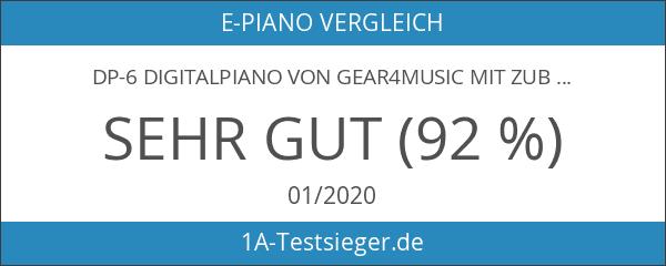 DP-6 Digitalpiano von Gear4music mit Zubehörpaket