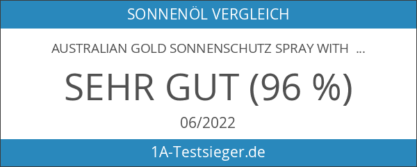 Australian Gold Sonnenschutz Spray with Bronzer SPF 15
