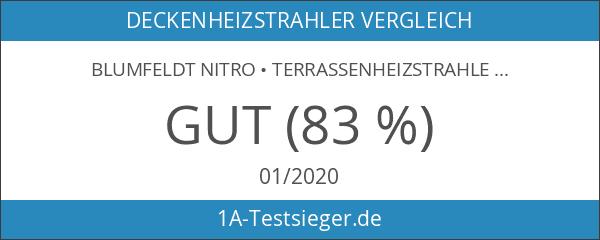 blumfeldt Nitro • Terrassenheizstrahler • Heizstrahler • Infrarot • Goldröhre