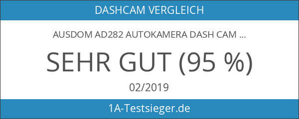 Ausdom AD282 AutoKamera Dash Cam