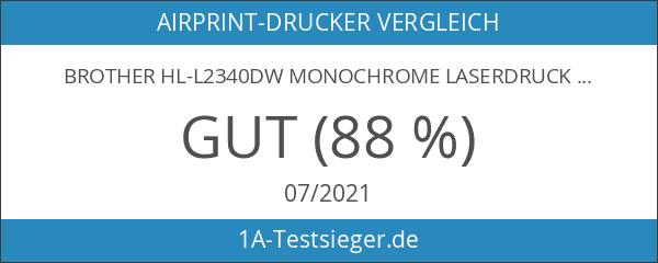 Brother HL-L2340DW Monochrome Laserdrucker schwarz