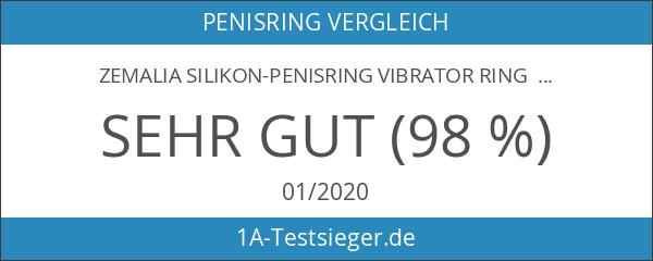 ZEMALIA Silikon-Penisring vibrator Ring sexspielzeug cockring