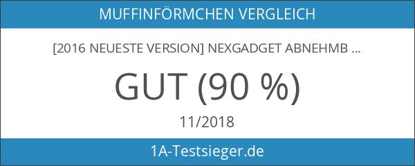 [2016 neueste Version] NexGadget Abnehmbare Universal-8-Port USB-Ladestation