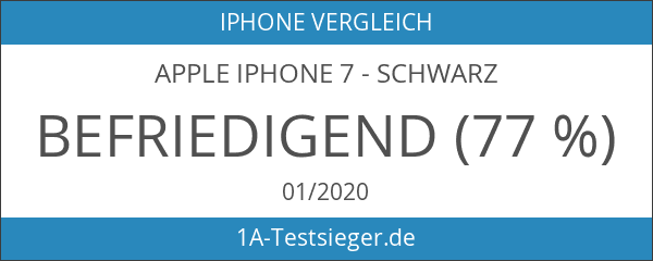 Apple iPhone 7 - Schwarz