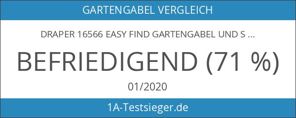 Draper 16566 Easy Find Gartengabel und Spaten