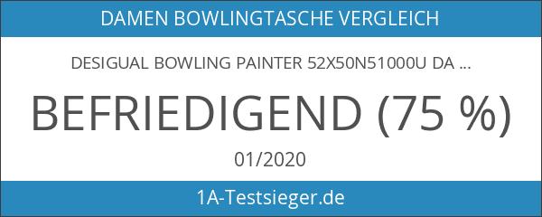 Desigual BOWLING PAINTER 52X50N51000U Damen Bowlingtaschen 30x26x15 cm