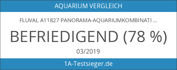 Fluval A11827 Panorama-Aquariumkombination Vicenza